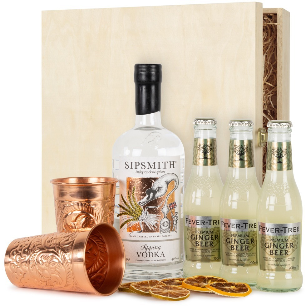 Cocktail Box Sipsmith Moscow Mule